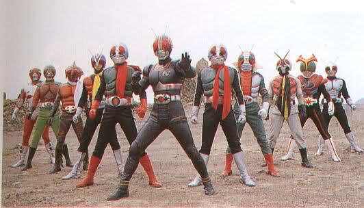Kamen Rider 1 Through RX: Big Gathering